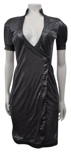 Rock & Republic Tailor Made Wrap Shimmer Lbd Dress
