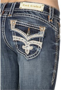 Rock Revival Boot Cut Jeans-Dark Rinse