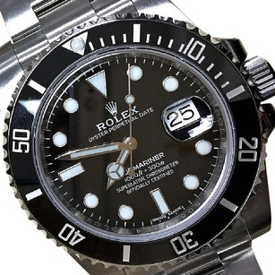 Rolex 116610 Rolex Ceramic Oyster Perpetual Submariner Date Watch 40mm Black
