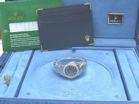 Rolex 18kt Rolex Pearlmaster Black Mother Of Pearl White Gold Diamond Watch 80299