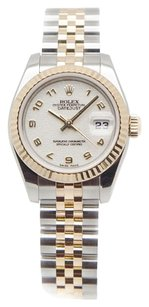 Rolex Rolex DateJust Stainless Steel and 18K Yellow Gold Ladies Watch