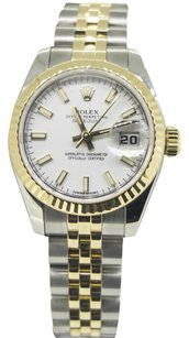 Rolex Ladies Rolex 26mm Datejust Two-tone Watch 179173