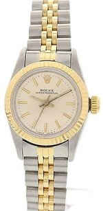 Rolex Ladies Rolex Oyster Perpetual Steel And Yellow Gold Watch 67193