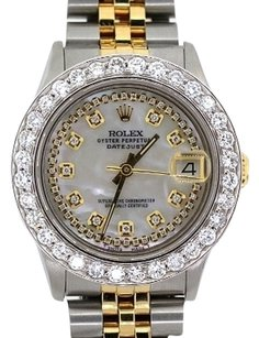 Rolex Midsize Rolex Datejust 31mm Diamond Watch