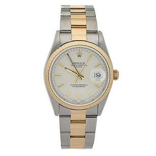 Rolex Rolex 15203 Oyster Perpetual Two-tone 18k Gold Bezel Automatic Unisex Watch