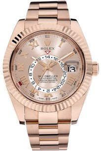 Rolex Rolex 18K Rose Gold Sky-Dweller Automatic Watch 326935