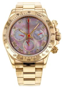 Rolex Rolex Cosmograph Daytona 116528 18K Yellow Gold Men's Watch RLXDY38