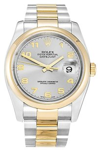 Rolex ROLEX DATEJUST 116203 STAINLESS STEEL AND YELLOW GOLD MEN'S WATCH