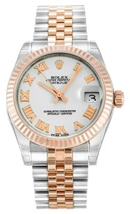 Rolex ROLEX DATEJUST 178271 STAINLESS STEEL AND ROSE GOLD UNISEX WATCH