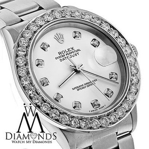 Rolex Rolex Datejust 36mm White Dial Diamond Bezel Stainless Steel Automatic Watch