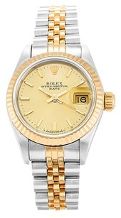 Rolex ROLEX DATEJUST 69173 18K GOLD AND STAINLESS STEEL LADIES WATCH