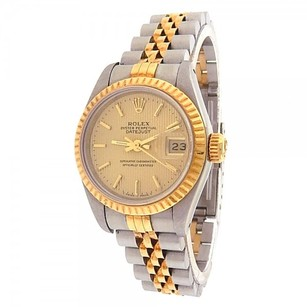 Rolex Rolex Datejust 69173 Stainless Steel 18k Yellow Gold Jubilee Automatic