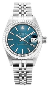 Rolex ROLEX DATEJUST 79174 STAINLESS STEEL BLUE DIAL LADIES WATCH