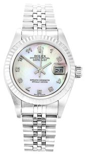 Rolex ROLEX DATEJUST 79174 STAINLESS STEEL MOP DIAL LADIES WATCH