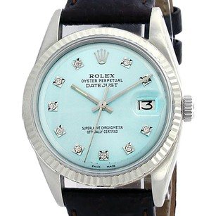 Rolex Rolex Datejust Oyster Perpetual L.Blue 16014 Watch Stainless Steel