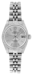 Rolex ROLEX DateJust Silver Dial Stainless Steel Watch 69174