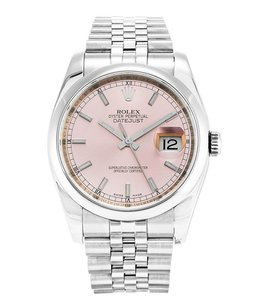 Rolex Rolex Datejust Stainless Steel silver Dial Men's Automatic Watch