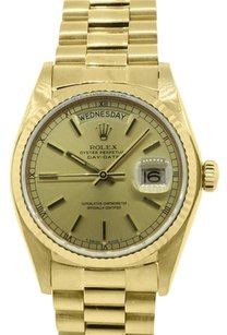 Rolex ROLEX DAY-DATE 18K YELLOW GOLD PRESIDENTIAL MEN'S WATCH