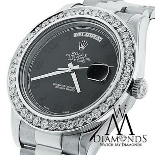 Rolex Rolex Day-date Ii Presidential White Gold - Diamond Bezel - 218239 Bkcap