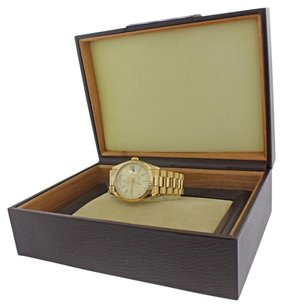 Rolex Rolex Day Date President 18k Gold Double Quick 18238 Watch Box Papers