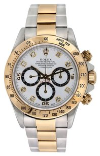 Rolex Rolex Daytona 18K Yellow Gold and Stainless Steel Custom Diamond Men's Watch