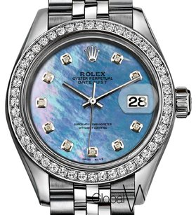 Rolex Rolex Deep Sea Mother of Pearl Diamond 26MM Small Ladies size Watch