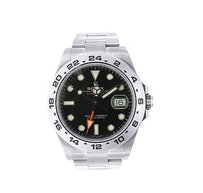 Rolex Rolex Explorer Ii Watch - Black Dial- Stainless Steel - Reference 216570
