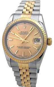 Rolex Rolex Ladies Two Tone DateJust Watch 68273