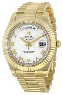 Rolex Rolex Men's Yellow Gold DayDate II 41mm Presidential Watch 218238