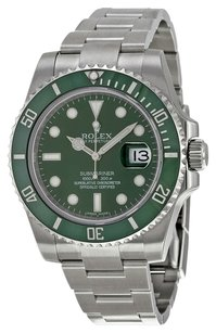 Rolex Rolex Oyster Perpetual Green Submariner Date Watch 116610LV