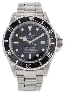 Rolex Rolex Oyster Perpetual Sea-Dweller Black Dial Steel Men's Watch 16660