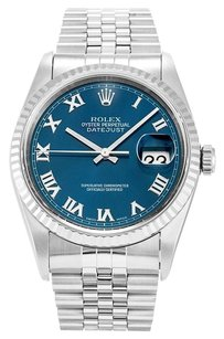 Rolex ROLEX STAINLESS STEEL DATEJUST MEN'S WATCH