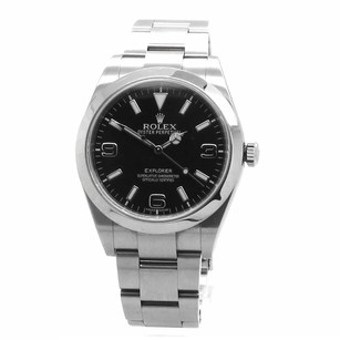 Rolex ROLEX STEEL (214270) EXPLORER BLACK DIAL MEN'S WATCH