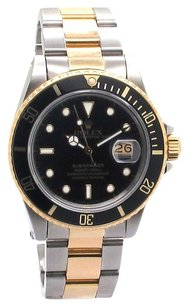 Rolex ROLEX SUBMARINER 16613 18K YELLOW GOLD AND STAINLESS STEEL MEN'S WATCH