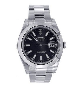 Rolex Rolex Watch Datejust Ii 41mm - Black Dial - 116300