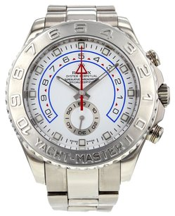 Rolex Rolex Yacht-Master II 116689 44mm 18k White Gold Wrist Watch for Men RLXYM2W10