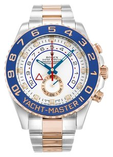 Rolex ROLEX YACHT-MASTER II 116681 18K ROSE GOLD & STAINLESS STEEL MEN'S WATCH