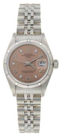 Preload https://item2.tradesy.com/images/rolex-silver-date-stainless-steel-pink-dial-ladies-watch-5575921-0-0.jpg?width=440&height=440