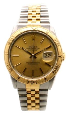 Rolex Rolex DateJust 16263 18K Gold and Steel Thunderbird Bezel Men's Watch