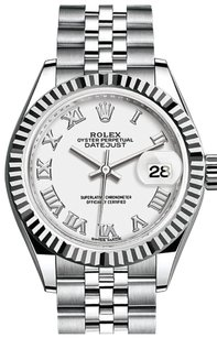 Rolex Ladies Stainless Steel Datejust Jubilee Diamond Watch White MOP Dial.
