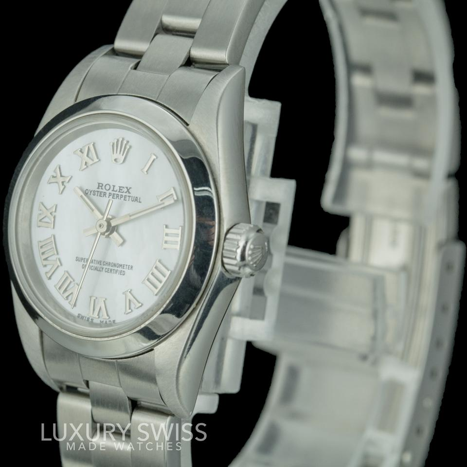 watches l lady white larger exchange shopcom ladies armani emporio watch view