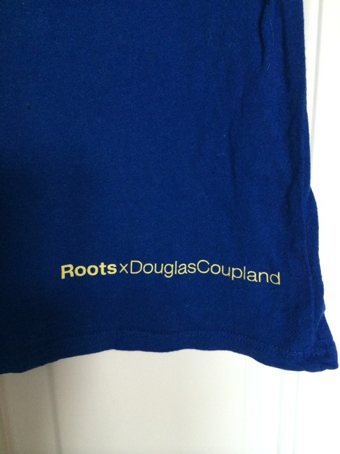 Roots T Shirt Royal blue