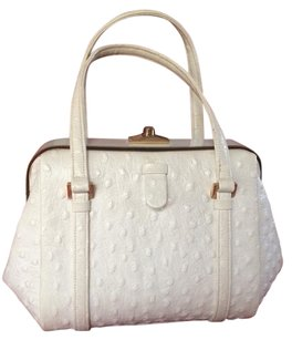 Rosenfeld Satchel in Off White