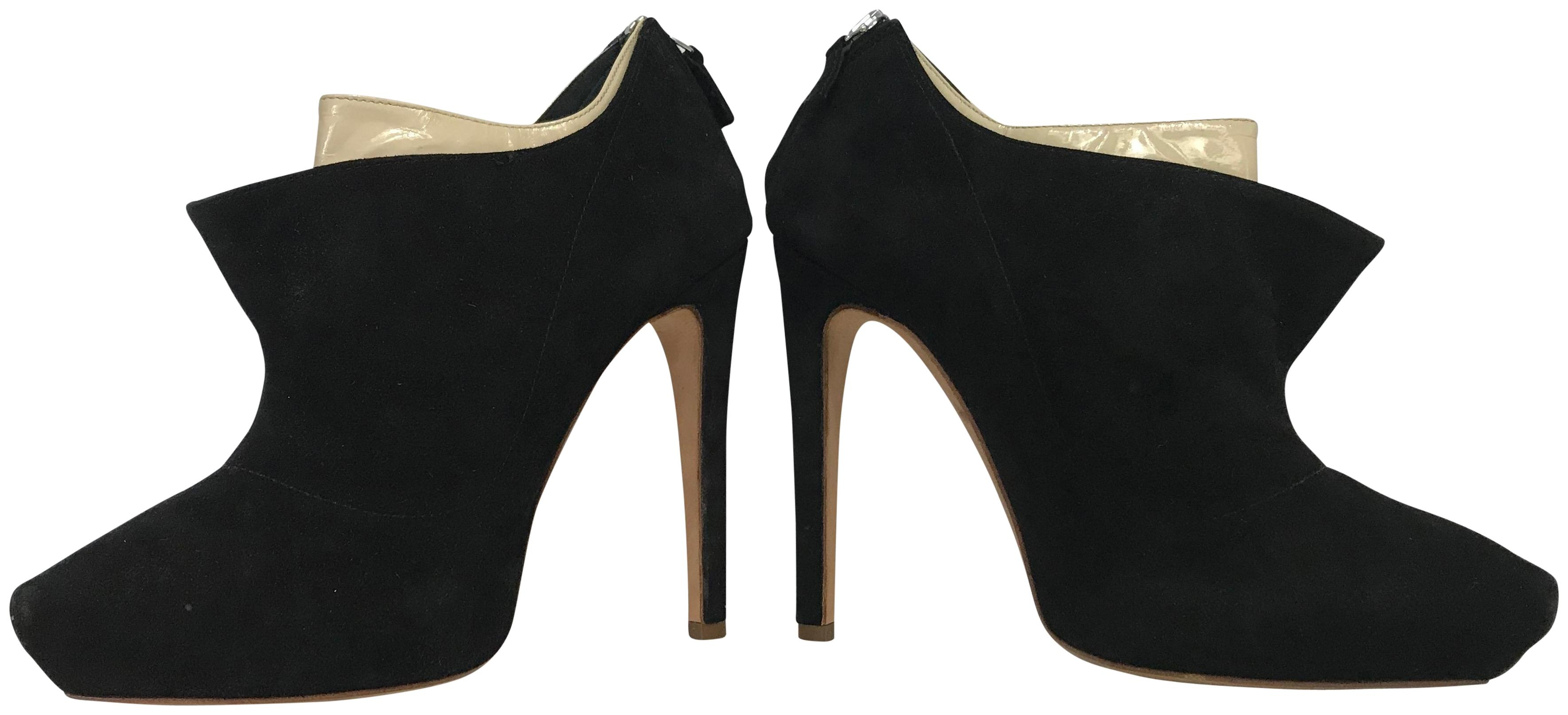 Rupert Sanderson Suede Pointed-Toe Booties pictures online 1ZRlKcSv