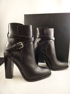 Saint Laurent Paris Black Boots