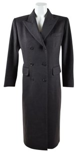 Saint Laurent Yves Dark Coat