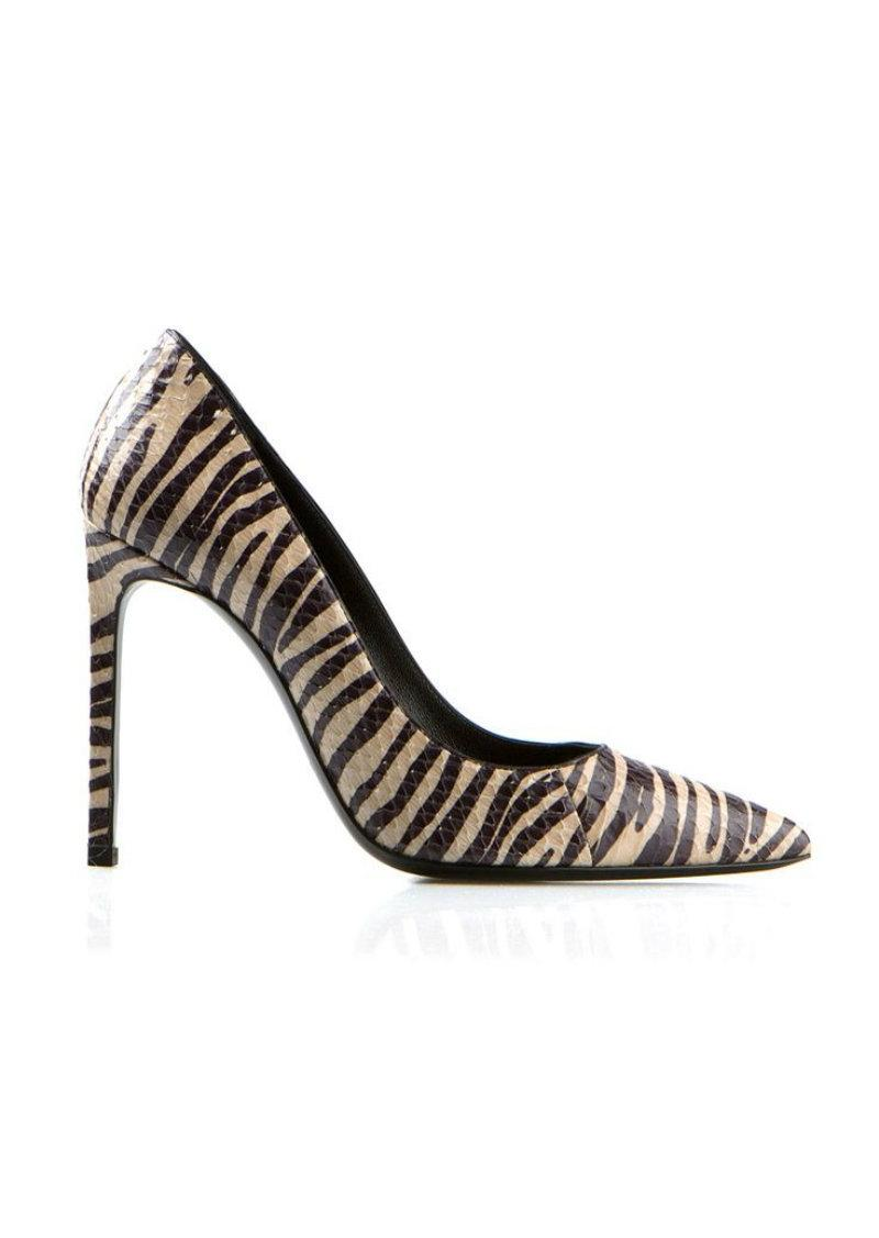 discounts Saint Laurent Snakeskin Pointed-Toe Pumps cheap with paypal latest for sale top quality online 2014 cheap online U3R9H4M