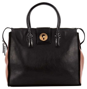 Saint Laurent Cabas Leather Tote