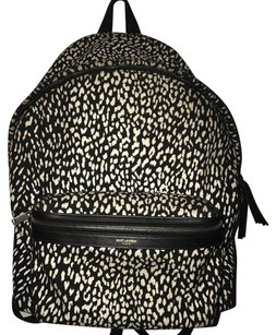 Saint Laurent Canvas Babycat Backpack