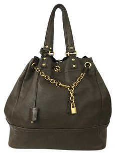 Saint Laurent Tote in Cocoa Brown